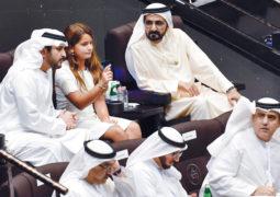 محمد بن راشد: دولتنا الحبيـــــبة أيقونة للفرح