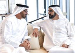 محمد بن راشد ومحمد بــن زايد: هــــــدفنا وضع أساس قوي لمستـــقبل واعد لأجيالنا
