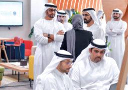 محمد بن راشد ومحمـد بـن زايــد يؤكدان أهمية تكامل الخدمات الحكومــية وتطويرها