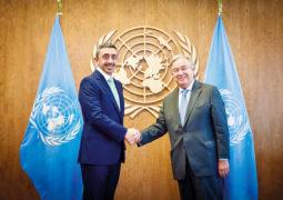 عبدالله بن زايد: الإمــارات حريصة على مواصلة العمل مع الأمم المتحدة