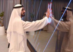 محمد بن راشد يطلق مركزاً نموذجياً للخدمات الحكومية