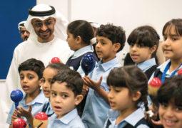 محمد بن زايد: متفائلون بالمـستقبل لثقتنا بأبنائنا الطلبة