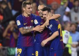 برشلونة يجتاز ملقا وميسي يحقق رقماً ملفتاً – أهداف وملخص برشلونة وملقا