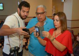 نجوم سوريا المشاركون بمهرجان الإسكندرية يتابعون مباراة منتخبهم مع أستراليا