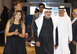 معالي الشيخ نهيان بن مبارك آل نهيان يلقي الكلمة الافتتاحية في أول مهرجان موسيقي ملهم في دبي