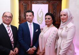 شركة فاديا الطويل لتنظيم المهرجانات والفعاليات تقيم أمسية وردية للدعوة للكشف المبكر عن سرطان الثدي