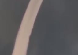 """بالفيديو  """"السحابة الثعبان"""" تثير الفزع في اليابان"""