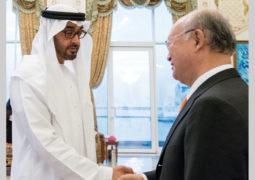 محمد بن زايد: الطاقة النووية شريان جديد يضاف إلى الاستثمارات الحيوية بدولة الإمارات