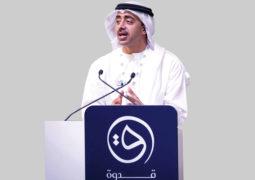 عبدالله بن زايد: أبناؤنا تفوقـــوا علينا.. والتكنولوجيا غيرت مهمة الـــمعلم
