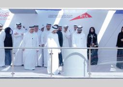 محمد بن راشــد يـدشِّـن أعمال حفر «مسار 2020» لمترو دبي