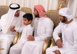 محمد بن زايد: الإمارات تفتخر بأبطال قدّموا أغلى ما يملكون لأجل الوطن والحق
