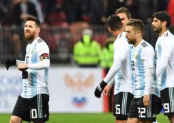 أرجنتين ميسي بلا هيبة ودياً أمام روسيا