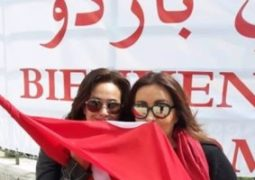 لطيفة وهندى صبرى تدعمان المنتخب التونسي في مباراته الفاصلة اليوم