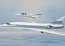 طائرة ركاب أسرع من الصوت تخفض مدة الرحلات إلى الثلث