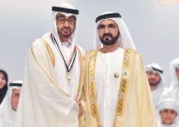 محمد بن راشد و محمد بن زايد يكرمان  أوائل الإمارات في العمل الخيري والإنساني