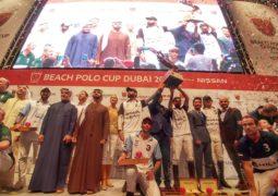 فريق نيسان ليف يتوج بلقب بطولة بولو الشاطئ دبي 2017