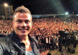 عمرو دياب يغني في دبي بفارق 48 ساعة