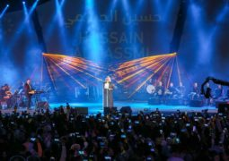 حسين الجسمى يستقبل العام الجديد من أبو ظبى.. ويفاجئ جمهوره بأغنيتين جديدتين