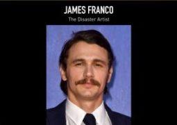 جيمس فرانكو يفوز بجائزة جلودن جلوب أفضل أداء عن دوره في The Disaster Artist