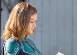 """برى لاريسون فى كواليس تصوير """"Captain Marvel"""""""