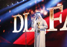 بالصور االنجمان فايز السعيد ووائل كفوري يحصدان حوائز ضيافة  في دبي