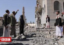 اليمن: بي بي سي داخل سجن تابع للحوثيين قصفته السعودية