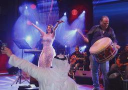 """ديانا حداد تشعل جوانب """"سيتي ووك"""" فرحاً بحفل رأس السنة في دبي"""