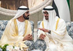 محمد بن زايد: أخي محمد بن راشد بمثلك يفخر الوطن.. وتبقى اﻷخ والمعلم والمُلهم