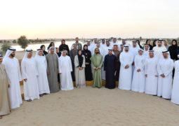 محمد بن راشد يطلق «محمية المرموم» أكبر وجهة بيئية سياحية