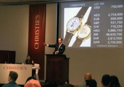 ساعة الملك فاروق الأول تحصد رقماً قياسياً في مزاد كريستيز بدبي وتصبح الساعة الأغلى ثمناً بمزادات الشرق الأوسط