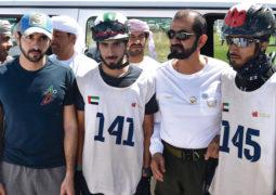 محمد بن راشد يشهد كــأس اليــمامة للقدرة