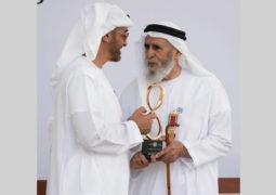 محمد بن زايد: أبناء الإمارات والمقيمون يعتزون بقيم عريقة أسّس قواعدها زايد