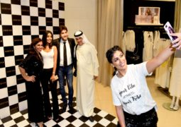 نوتا العالمية للأزياء تفتح فروع جديدة في الامارات بحضور نجوم الفن والاعلام