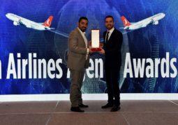 نيرفانا تفوز بجائزة افضل وكيل سفر  خلال الحفل السنوي للخطوط الجوية التركية في أبوظبي