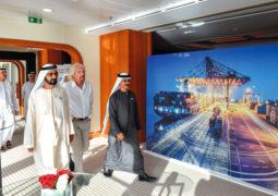 محمد بن راشد يشهد إطلاق «موانئ دبي العالمية كارغوسبيد»