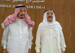 سلمان ومحمد بن راشد ومحمد بـن زايد يحضرون فعاليات «درع الخليج المشترك1»