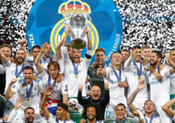 للمرة الثالثة على التوالي ريال مدريد يتوج بلقب دوري أبطال أوروبا