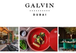 قائمة طعام غنية بالنكهات خاصة بشهر رمضان المبارك من مطعم غالفن دبي