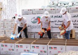 317 ألف وجبة إفطار وزعتها «خليفة الإنسانية» منذ بداية رمضان
