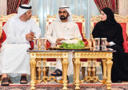 محمد بن راشد للعلماء الإماراتيين: عليكم بالمثابرة ومواصلة السعي على درب الإبداع الفكري