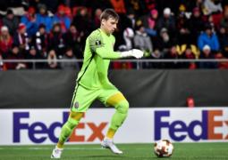 ريال مدريد يضم الحارس الأوكراني الشاب لونين