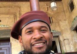 """""""آشر"""" ينشر صورة جديدة من زيارته لمصر عبر إنستجرام"""