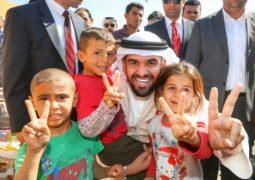 حسين الجسمي والأعمال الإنسانية: شراكة خيرية هدفها الإنسان العربي
