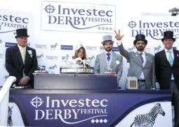 محمد بن راشد يتوَّج بطلاً لسباق الديربي الإنجليزي الأشهر والأعرق