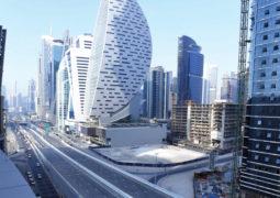 افتتاح المرحلة الثانية من مشروع الطرق الموازية في منطقة الخليج التجاري