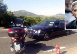 إصابة جورج كلوني في حادث دراجة نارية بايطاليا