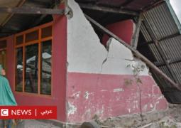 زلزال مدمر يضرب مقصدا سياحيا شهيرا في إندونيسيا