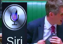 سيري تقاطع وزير دفاع بريطانيا وهو يتحدث عن سوريا