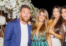 """""""إليسا"""" و""""ميسي"""" يلتقيان في حفل زفاف بإسبانيا"""