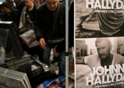 مبيعات قياسية لألبوم جوني هاليداي الصادر بعد وفاته